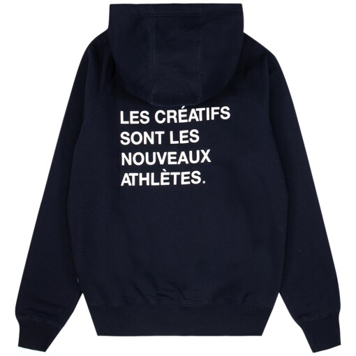 The New Originals Sweaters The New Originals creatives are the new athletes hoodie Navy