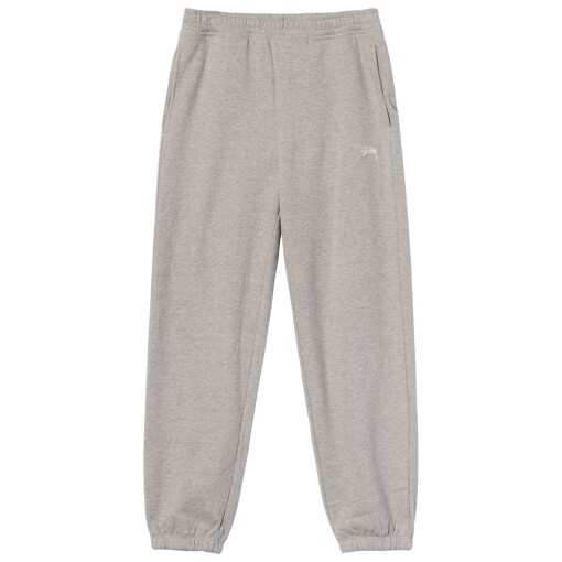 Stüssy Trousers Stüssy stock logo pants Grey Heather