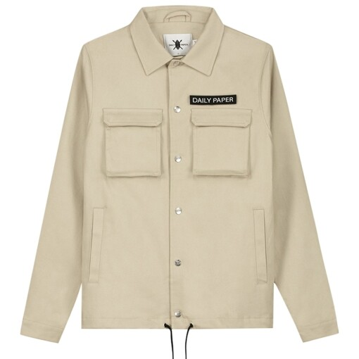 Daily Paper Jackets Daily Paper coach jacket Beige