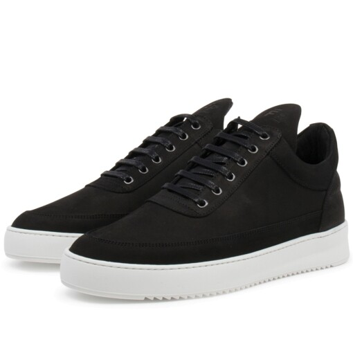 Filling Pieces Luxury Sneaker Filling Pieces low top ripple basic Black / White