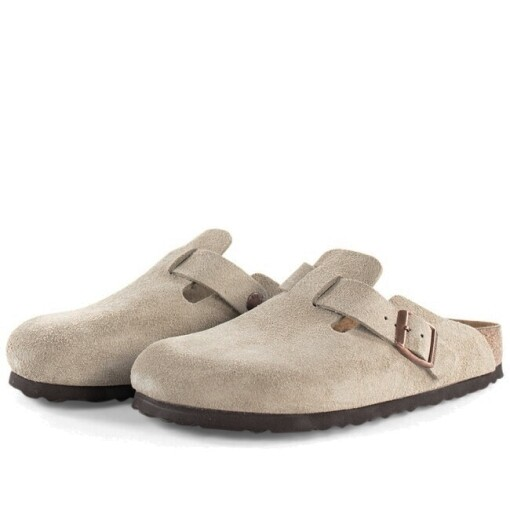 Birkenstock Slippers Birkenstock boston Taupe