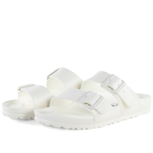 Birkenstock Slippers Birkenstock arizona eva White