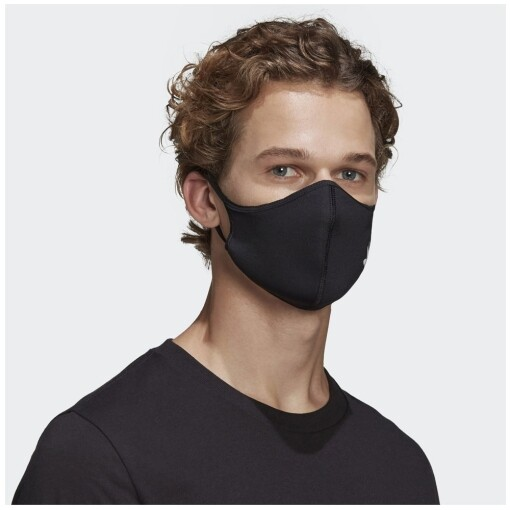 Adidas face cover 3 pack m/l Black/White Adidas face cover 3 pack m/l - nitten.nl - NITTEN