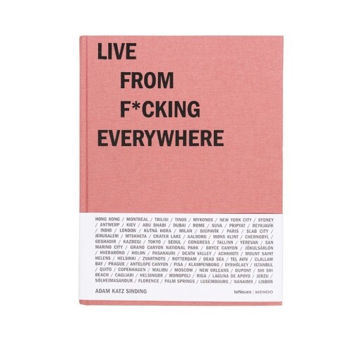 Mendo Books Books Mendo Books live from f*cking everywhere Adam Katz